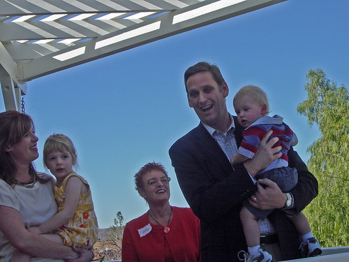 Tony Audra and Children