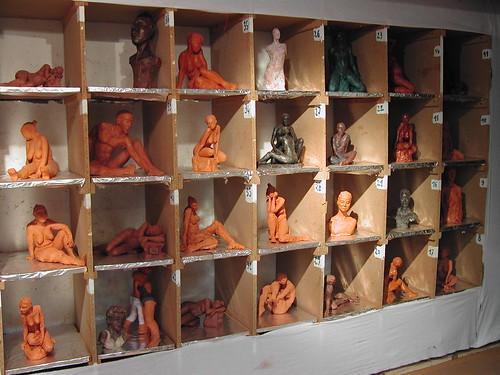 Exposition Atelier Saint Fargeau 2008