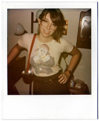 (hweeeeeee) Tags: california film girl analog polaroid glasses girlfriend lol flash hipster 600 indie annie expired funkyfresh lawl expiredpolaroid itscomplicated kindagirlfriend itwasjustforthepopulartags