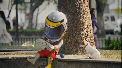 Comercial de Coca-Cola Avatar perro