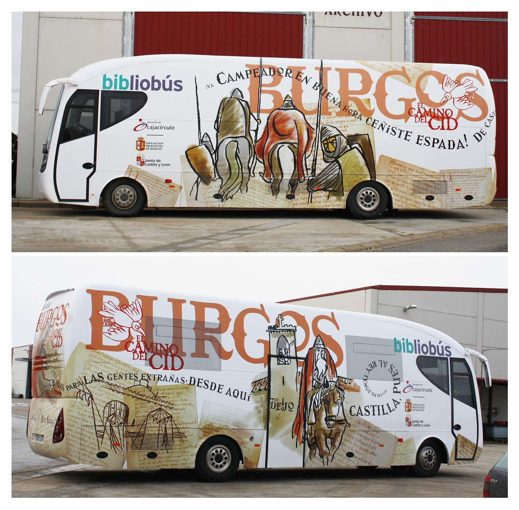 Bibliobus de la Diputación de Burgos