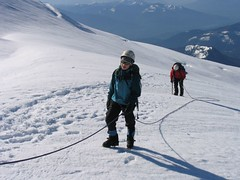 On the upper Easton Glacier