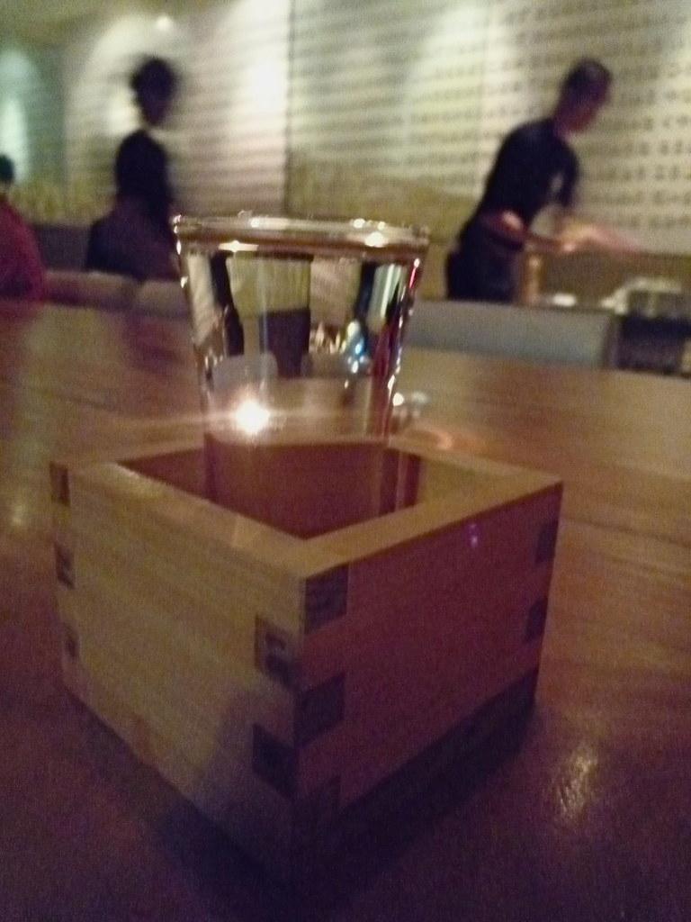 Sake at Ippudo