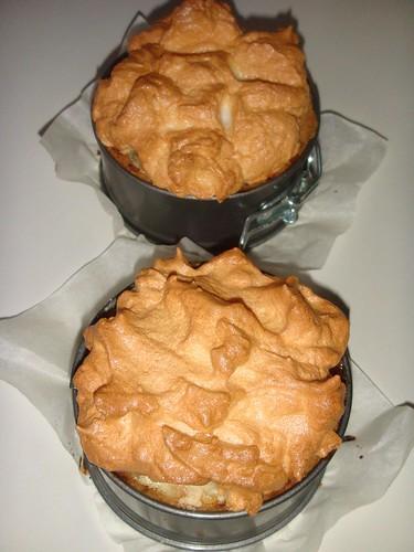 1-Şeftalili Merengli Pasta