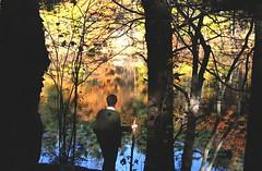 (Caleb Groh) Tags: autumn pond peak spot melrose fells middlesex malden