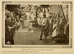 Scene from the Italian silent film Antony and Cleopatra 1913 (CharmaineZoe's Marvelous Melange) Tags: 1920s cinema rome classic film italian silent roman egypt movies ancientegypt twenties ancientrome italiancinema