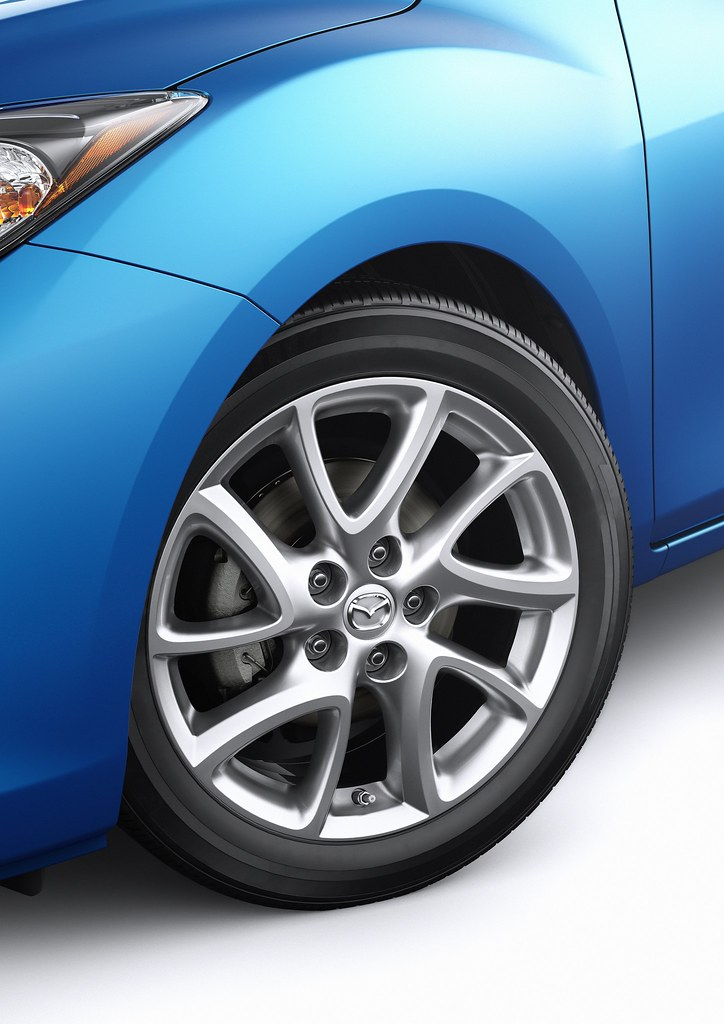 2012 Mazda3 SKYACTIV 17-Inch Wheels