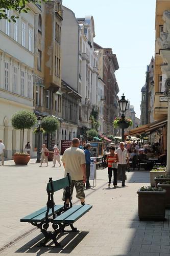Vaci utca, la via dello shopping della capitale