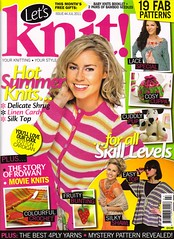 We've done it again! 'Let's Knit' Issue 44 July 2011.