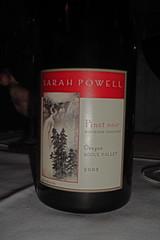 2003 Sarah Powell Pinot Noir