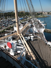 Stern (heimdal) Tags: harbor ship deck queenmary longbeach bow mast