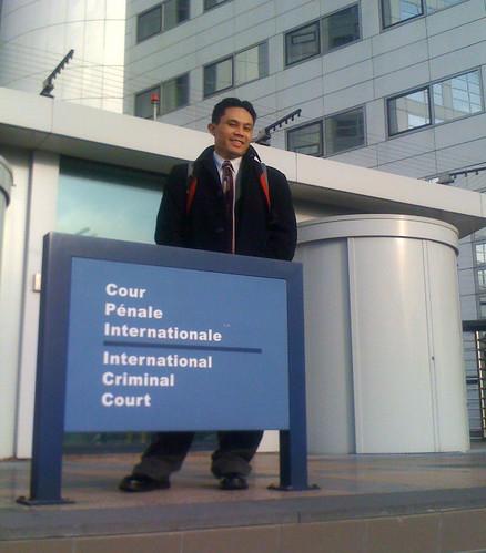 Rik at ICC in The Hague