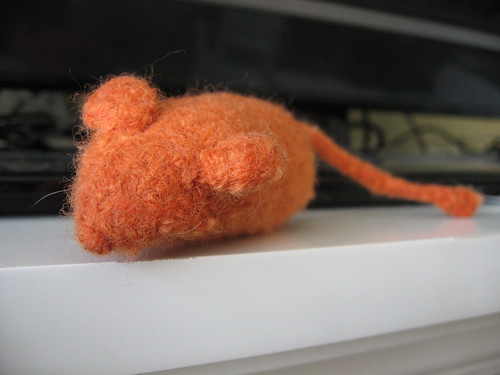 mouse post felting