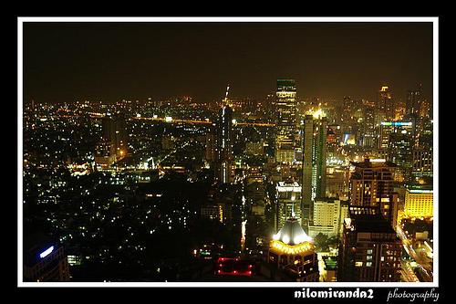 Bangkok Skyline by Nilo Miranda