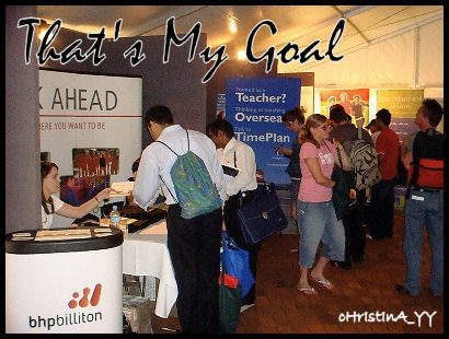 USQ Career Fair: That's My Goal