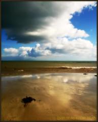 AN IRISH BEACH. (CORK, IRELAND) (Edward Dullard Photography. Kilkenny, Ireland.) Tags: kilkenny ireland sea sky beach sand cork photographic dullard edwarddullard societyedward