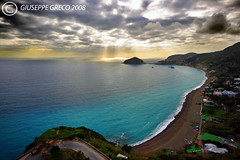 WAITING FOR SUMMER TIME!! (GIUSEPPE GRECO PHOTO) Tags: sea panorama sun beach clouds landscape blu rays ischia maronti sigma1020 abigfave aplusphoto giuseppegreco