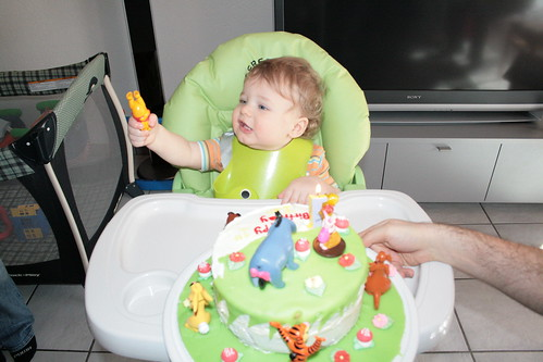 Ian First Birthday