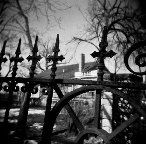 faery-proof gate.