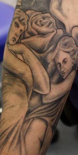 Angels 102 Tattoo Tattooed by Ray