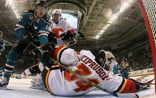 Kiprusoff Stops Another Shot