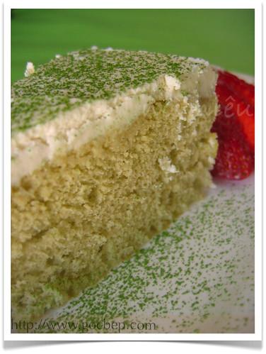 Japanese Green Tea Matcha Chiffon Cake