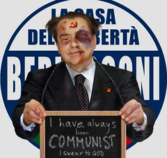 I have a dream... (http://www.agatti.com) Tags: presidente people italy celebrity art illustration digital logo prime freedom democracy italian election italia photoshopped clown politics digitale country contest dream fake evil communist criminal tragedy lie forza doom nightmare wretch nano mugshots retouch 2008 nonsense popolo silvio letizia liar satira seller noemi voting mafioso comunista minister berlusconi papi psico elezioni politica italiana libert fotomontaggio sogno rovina fotoritocco pittura illustrazione delinquente criminale untruthful consiglio investigated pathological bugiardo wrongdoer wort1000 agatticom indagato evasore speculatore malfattore banfone