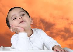 afraaz_space (Muzammil (Moz)) Tags: baby cute clouds evening space style hussain muzammil afraaz