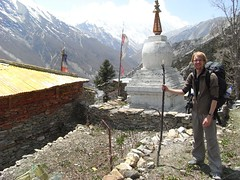 Buddhist monastery outside Khangasar