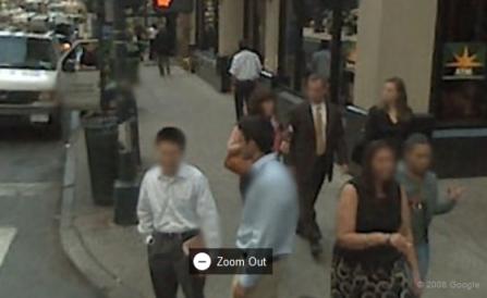 Google Maps Blurs Faces