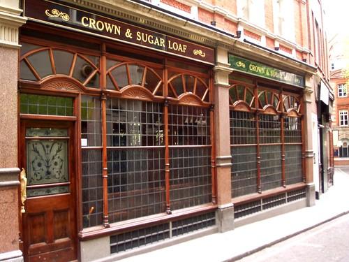 Crown and Sugar Loaf, Fleet Street, EC4