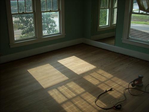 Floor Sanded - 1