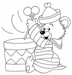 Urso sapeca (Lucia Helena Cesar) Tags: feltro urso riscos moldes sapeca aplicao patchcolagem