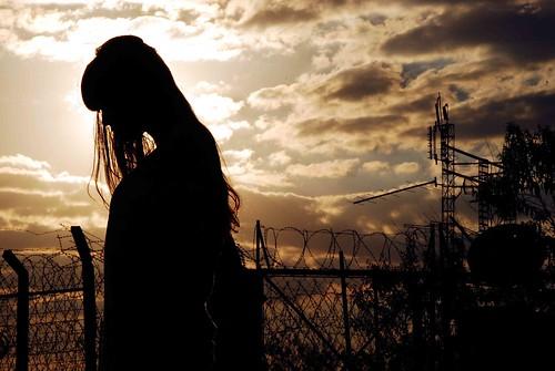 フリー画像| 人物写真| 女性ポートレイト| シルエット|        フリー素材|