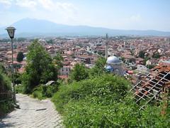 Halfway up (RhiannonCarnie) Tags: view prizren kosova kosovo