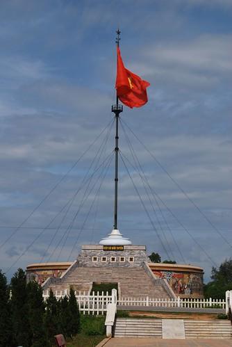Cột cờ giới tuyến