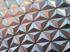 Spaceship Earth Closeup