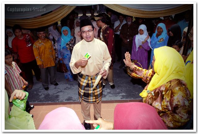foto Adat 'TOL' Pengantin Kahwin Di Johor