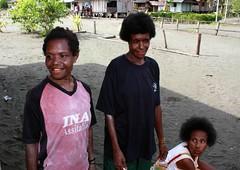 Beneraf village (Mangiwau) Tags: new west guinea village kampung papua kampong ibu meri nouvelle melayu manusia irja guinee sarmi irian papouasie kribo insose irianese beneraf