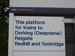 Train to Dorking