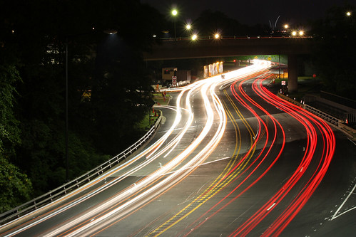 Rock Creek Parkway by Night