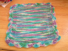 square dishcloth