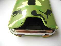 De achterkant van de case.