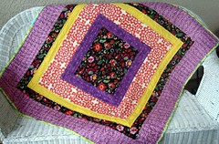 bright little quilt
