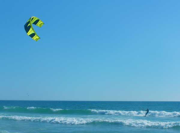 Kitesurfing Portugal Lisbon Beach