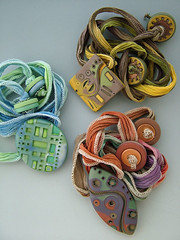 FFCF (julie_picarello) Tags: house color yellow julie unique clay designs jewlery polymer gane mokume picarello