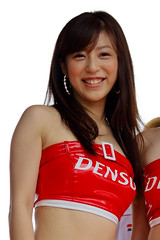 Tomomi Takezawa (Ton MJ) Tags: hot girl japan race canon asian eos super babe racing queen malaysia gt sepang motorsport tomomi autobacs denso takezawa 450d  efs55250mmf456is rebelxsi kissx2