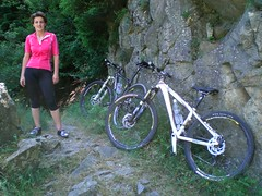 CIMG4270 (Michele Mondora) Tags: alps sara path alma isio mtb sentiero alpi valtellina wodden lanza orbea retiche maslino