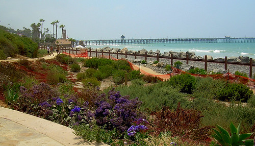 San Clemente Pier from Linda Lane by Terry.Tyson.
