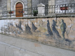 "Pilgrim Mural • <a style=""font-size:0.8em;"" href=""http://www.flickr.com/photos/48277923@N00/2623635988/"" target=""_blank"">View on Flickr</a>"